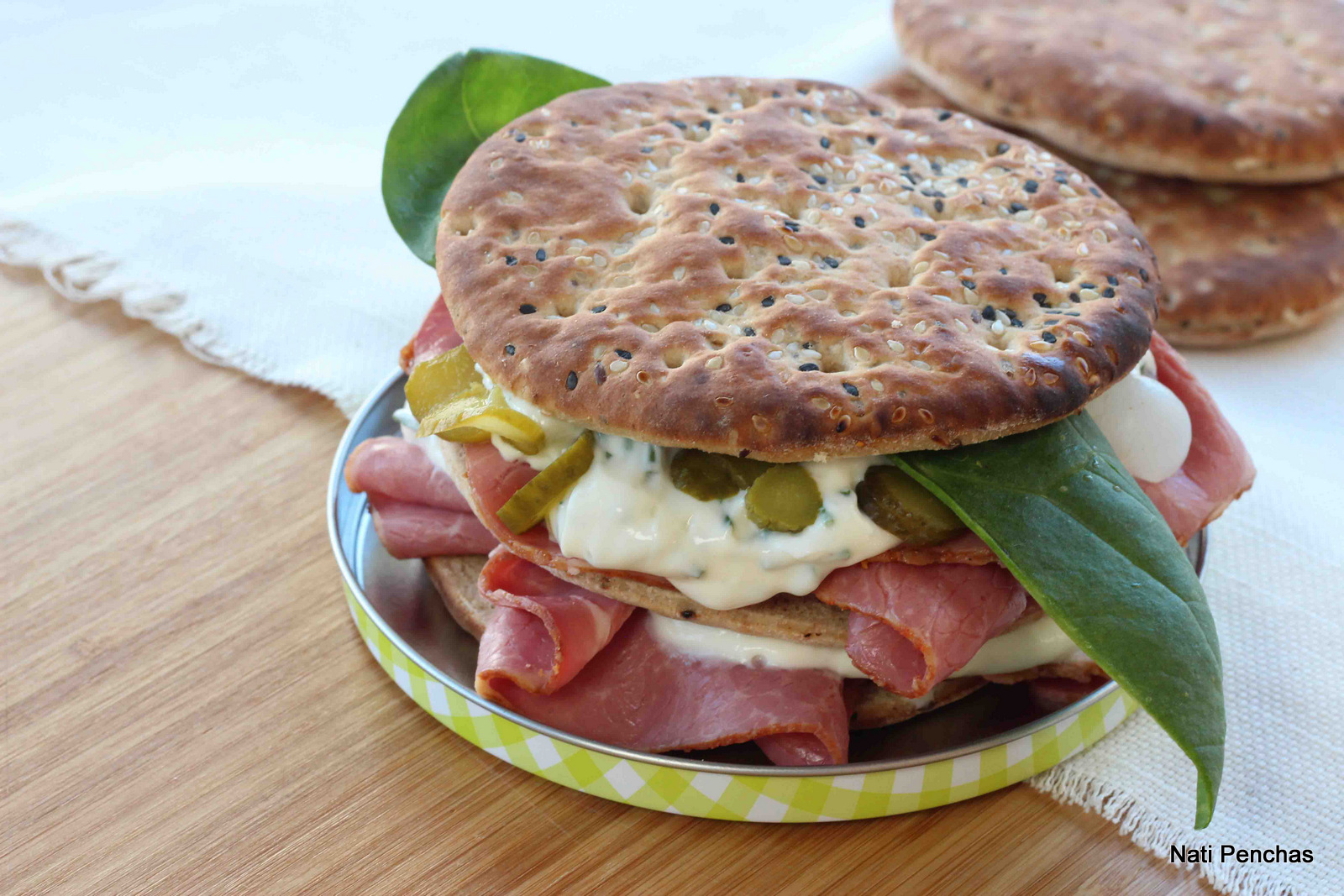 Sándwich de Pastrón